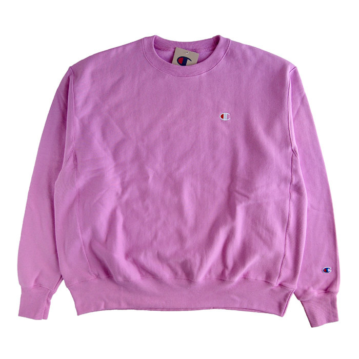 画像1: Champion   Reverse Weave Crew Sweatshirt  PURPLE  (1)