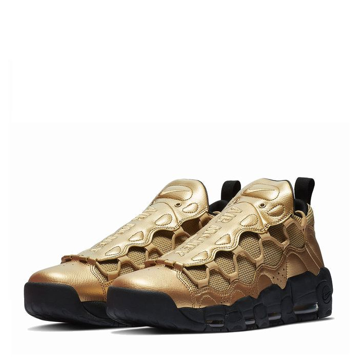 画像1: NIKE   Air More Money Metallic Gold 28cm (1)