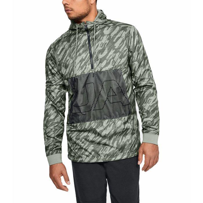 画像1: UNDER ARMOUR   UA Sportstyle Longline Anorak Jacket (1)