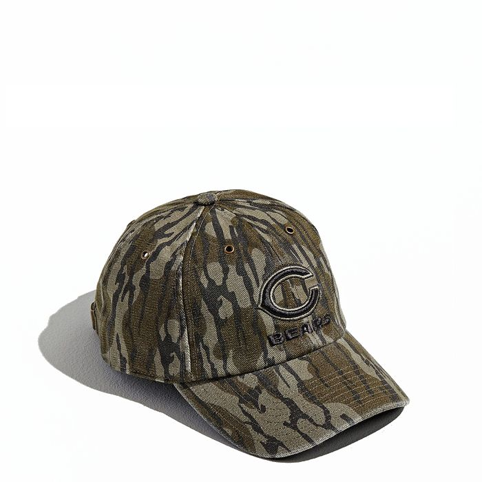 画像1: 47 BRAND × Carhartt × Mossy Oak   Chicago Bears Baseball Hat  (1)