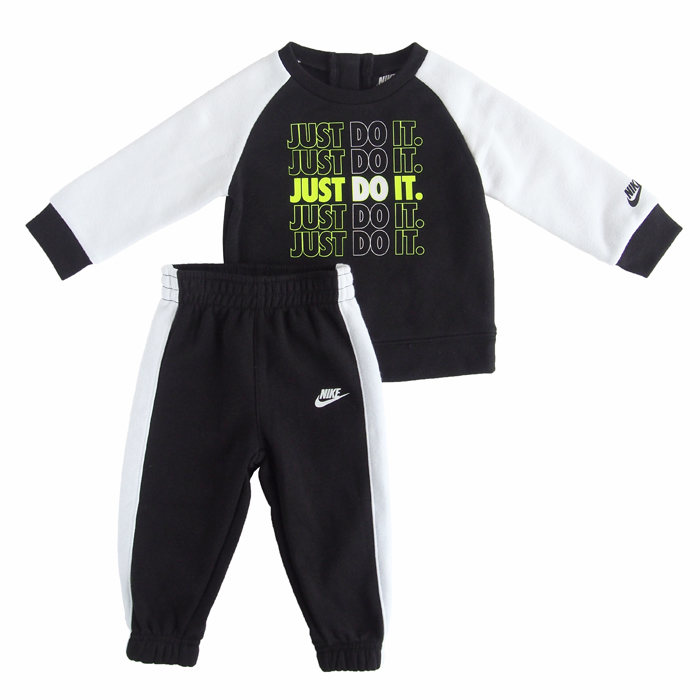 画像1: NIKE BOYS  fleece 2 piece set (2歳) (1)
