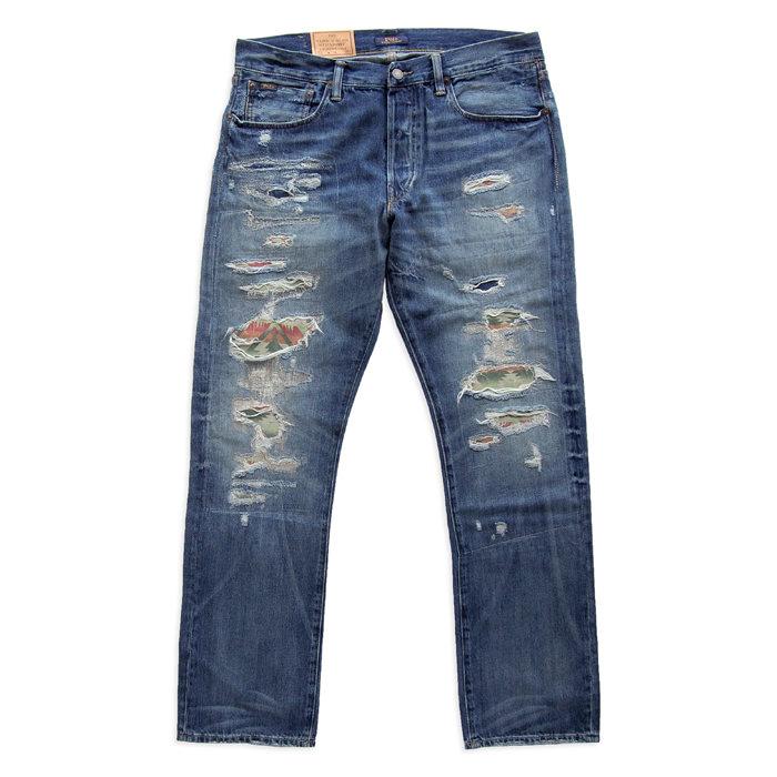 画像1: POLO RALPH LAUREN  varick slim straight jean (1)