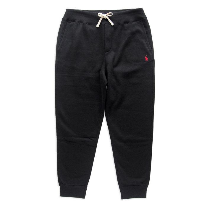 画像1: POLO RALPH LAUREN  jogger pants BLACK (L) (1)