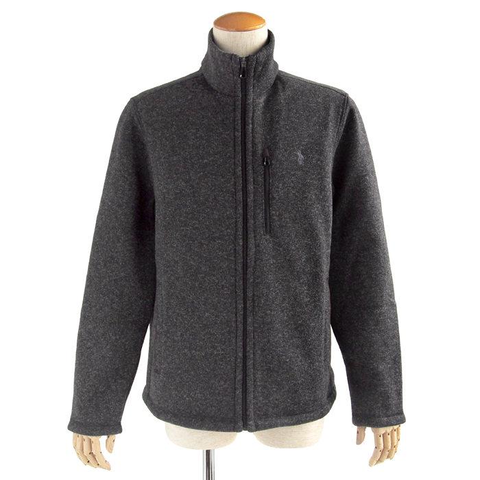 画像1: POLO RALPH LAUREN  performance fleece mockneck jacket  (1)