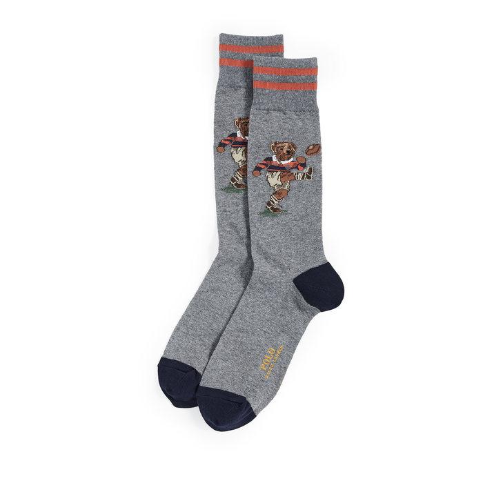 画像1: POLO RALPH LAUREN   kicker bear  socks  (1)