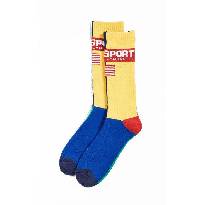 画像1: POLO RALPH LAUREN   polo sport multicolor socks  (1)