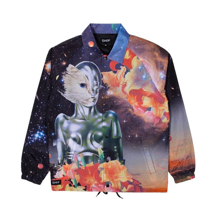 画像1: RIPNDIP   Galactica Coaches Jacket  (1)