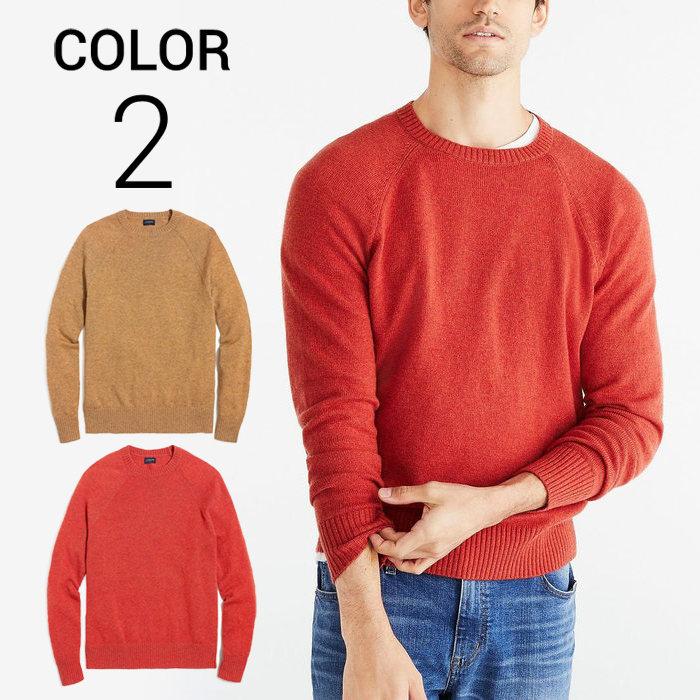 画像1: J.CREW   Crewneck sweater in supersoft wool blend 2color (1)