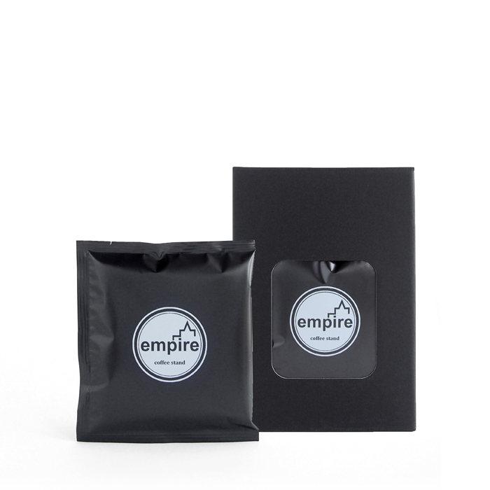 画像1: empire coffee stand  drip bag 10g(箱入り6個セット) (1)