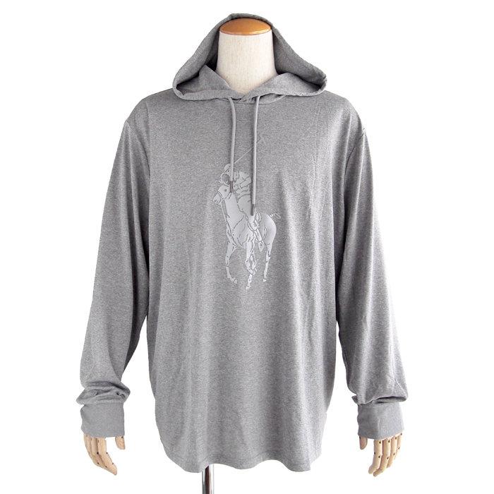 画像1: POLO RALPH LAUREN  PERFORMANCE big pony hooded t-shirt (M-XL) (1)
