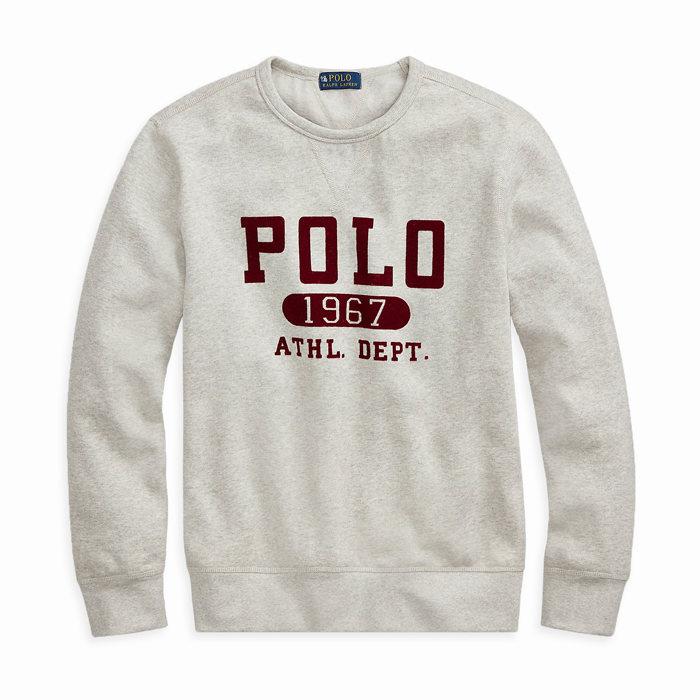 画像1: POLO RALPH LAUREN   Fleece Graphic Sweatshirt (1)