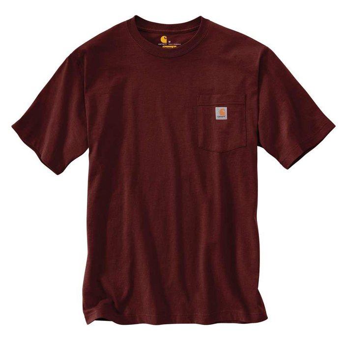 画像1: Carhartt   Loose Fit Heavyweight Short-Sleeve Pocket T-Shirt (1)