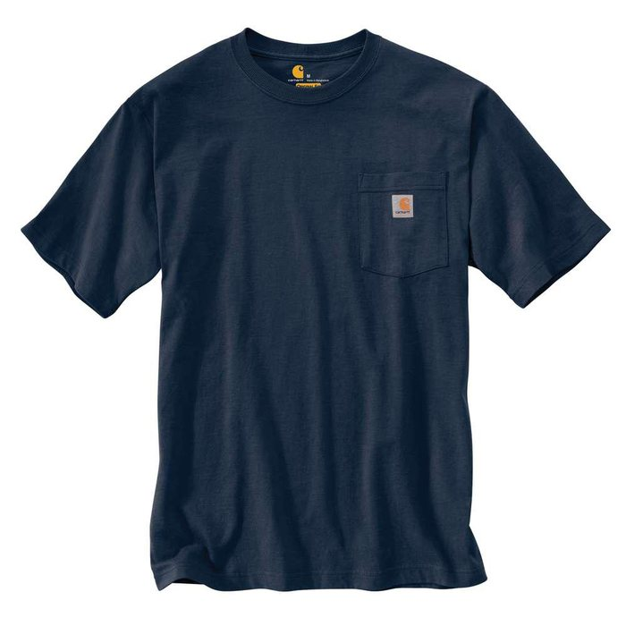 画像1: Carhartt    workwear pocket t-shirt (Irregular) (1)