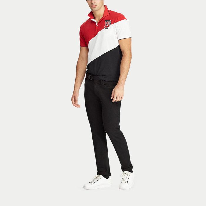 画像1: POLO RALPH LAUREN   P-Wing Stretch Mesh Polo Shirt  (1)