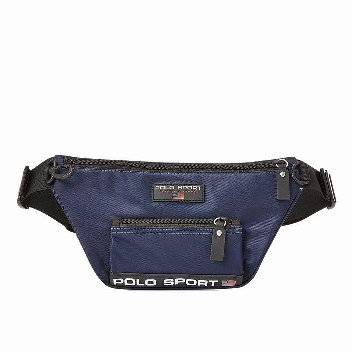 画像1: POLO RALPH LAUREN   Polo Sport Nylon Waist Pack  (1)
