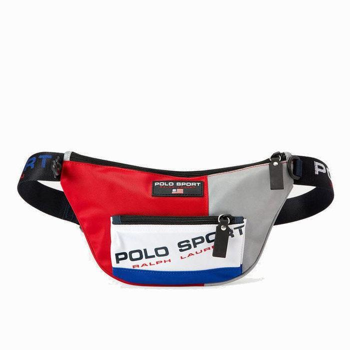 画像1: POLO RALPH LAUREN Limited-Edition   Polo Sport Nylon Waist Pack  (1)