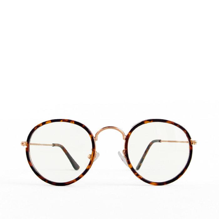 画像1: Urban Outfitters  round metal eyeglasses (1)