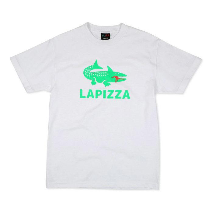 画像1: Pizza Skateboards   LA PIZZA  T-Shirt  (1)