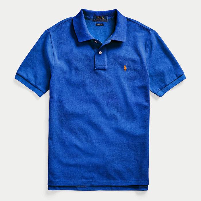 画像1: POLO RALPH LAUREN BOYS   Cotton Mesh Polo Shirt 2color (1)