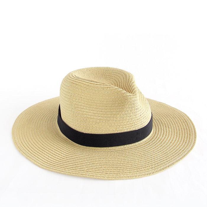画像1: J.CREW WOMAN  packable straw hat (S-L) (1)