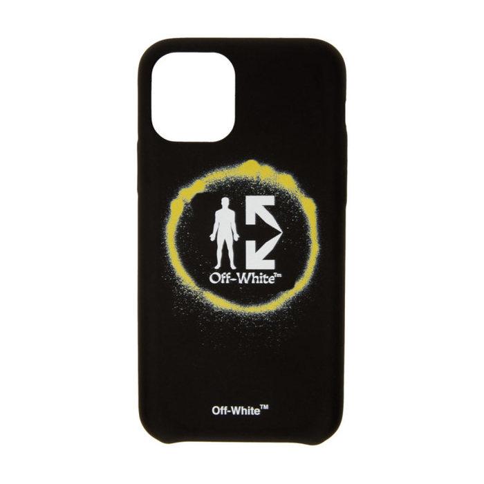 画像1: Off-White   Spray Circle iPhone 11 Pro Case (1)