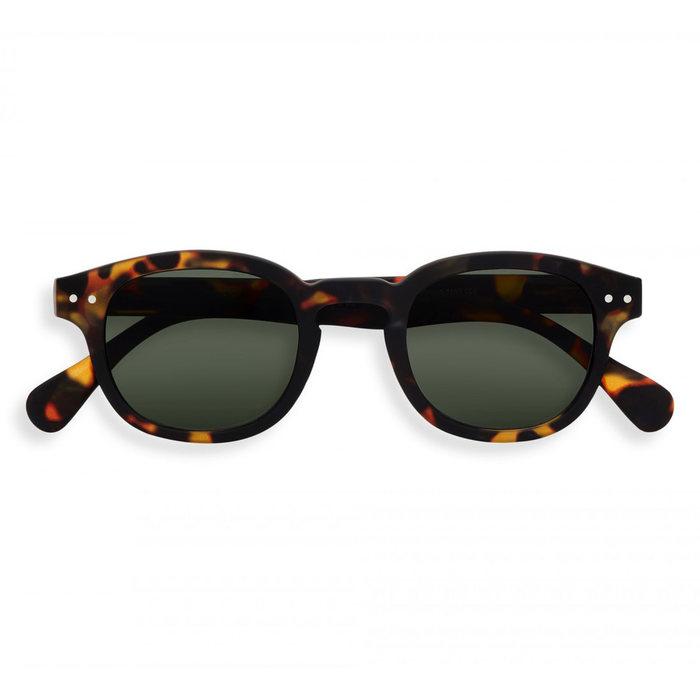 画像1: IZIPIZI   Sunglasses TORTOISE GREEN LENSES (1)