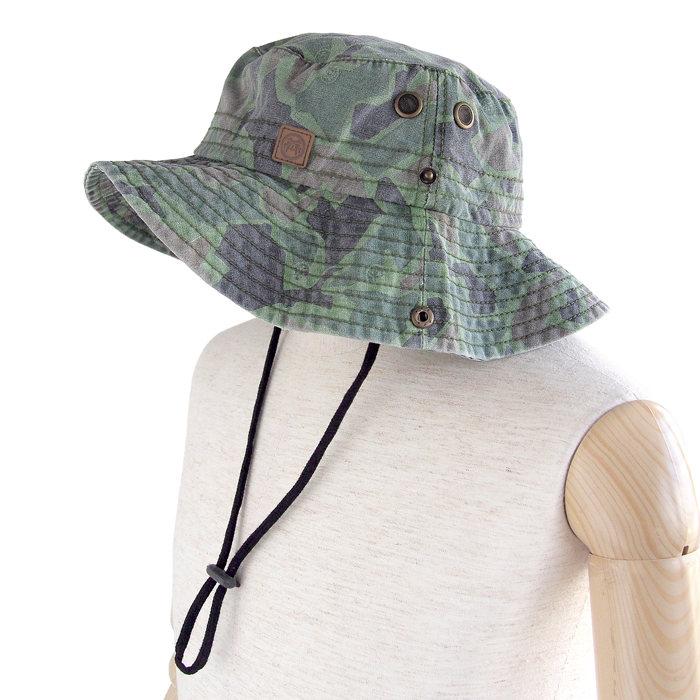 画像1: Urban Beach  camo bush walk bush hat (58cm) (1)