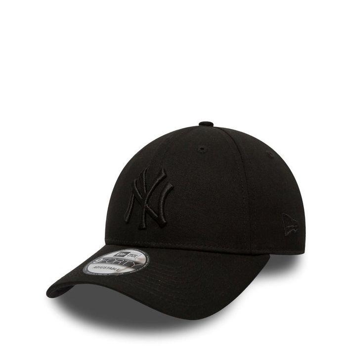 画像1: New Era   NY Yankees Essential Black on Black 9FORTY (1)