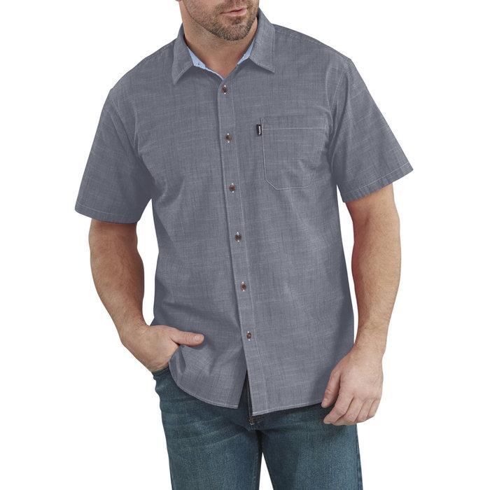 画像1: Dickies   X-Series Chambray Short Sleeve Shirt (1)