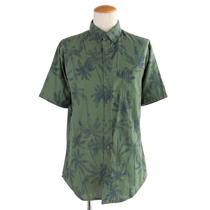 画像1: onia  botanical short sleeve shirt  (1)