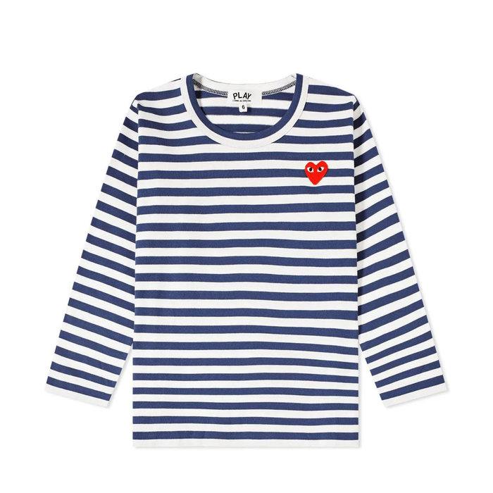 画像1: PLAY COMME des GARCONS Kids   Long Sleeve Stripe Tee  (1)