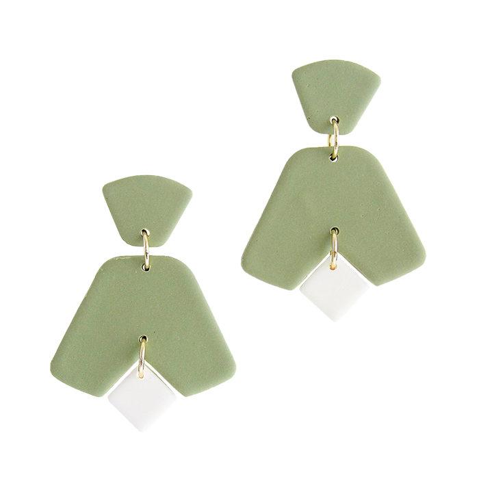 画像1: HARDI  clip-on earrings イヤリング (1)