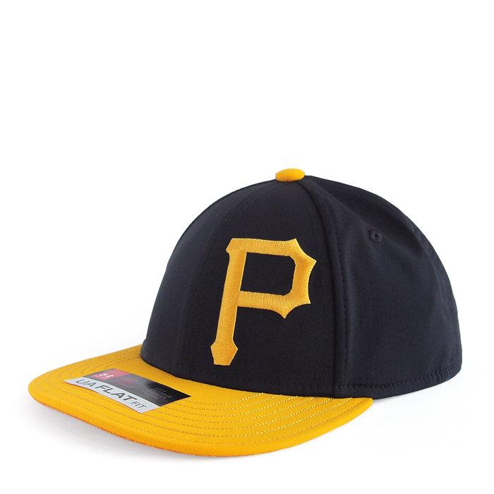 画像1: UNDER ARMOUR BOYS  baseball cap MLB Pittsburgh Pirates (52-54cm) (1)