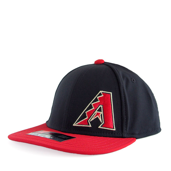 画像1: UNDER ARMOUR BOYS  baseball cap MLB Arizona Diamondbacks (52-54cm) (1)