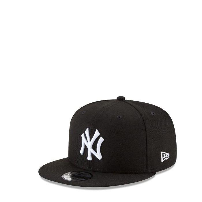 画像1: New Era YOUTH   NY Yankees Black & White 9FIFTY Snapback (1)