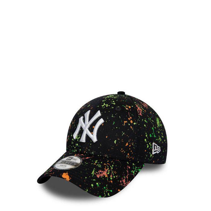 画像1: New Era YOUTH   NY Yankees Paint Navy 9FORTY  (1)