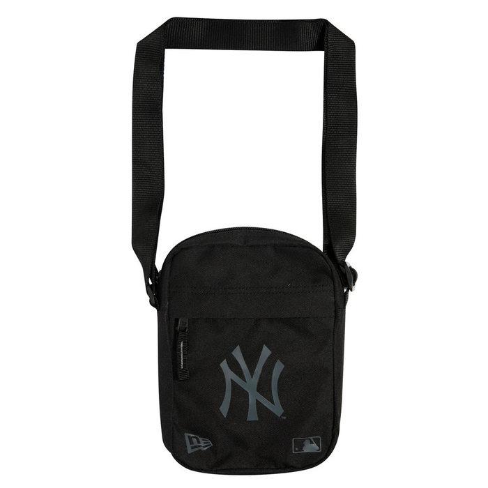 画像1: New Era   NY Yankees Logo Black Side Bag (1)