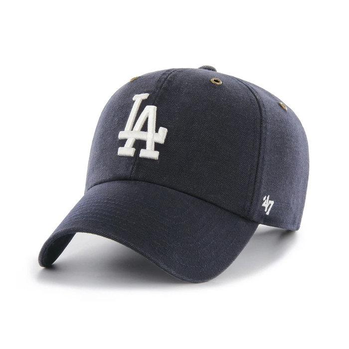 画像1: Carhartt × 47 BRAND   Los Angeles  Dodgers '47 Clean Up Cap (1)