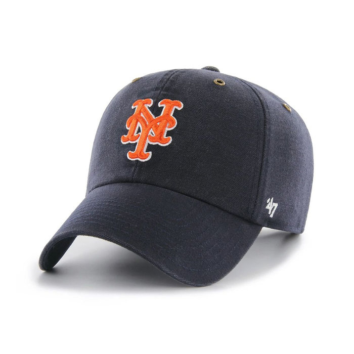 画像1: Carhartt × 47 BRAND   NY Mets '47 Clean Up Cap (1)