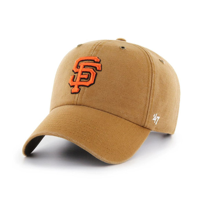 画像1: Carhartt × 47 BRAND   San Francisco Giants '47 Clean Up Cap (1)
