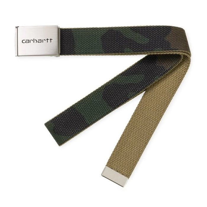 画像1: Carhartt WIP   Clip Belt Chrome CAMO (1)