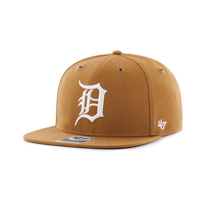 画像1: Carhartt × 47 BRAND   Detroit Tigers  '47 Captain Cap (1)