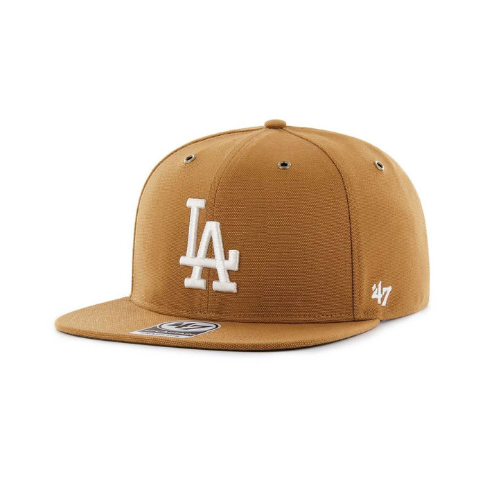 画像1: Carhartt × 47 BRAND   Los Angeles Dodgers  '47 Captain Cap (1)