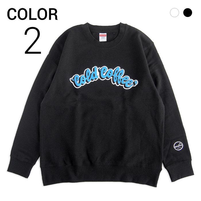 画像1: empire coffee stand  original sweat shirts Cold Coffee 2color  (1)