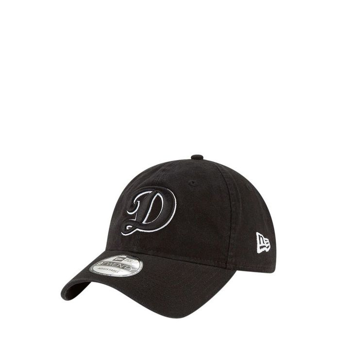 画像1: New Era   Los Angeles Dodgers Black Core Classic Twill 9TWENTY (1)