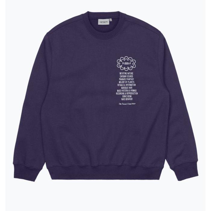 画像1: Carhartt WIP × Public Possession   Crewneck Sweatshirt  (1)