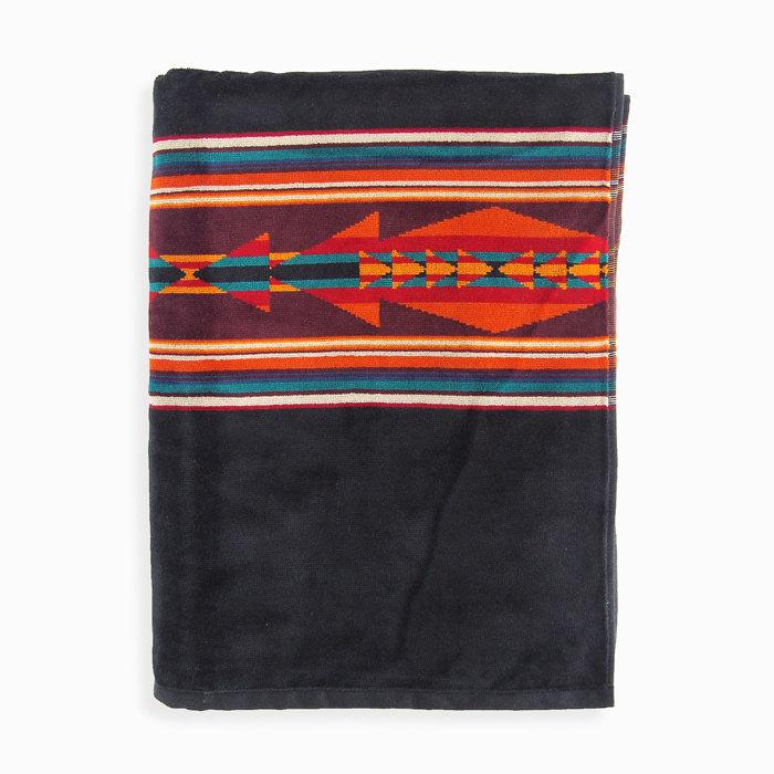 画像1: PENDLETON  jacquard beach towel BIG MEDICINE (1)