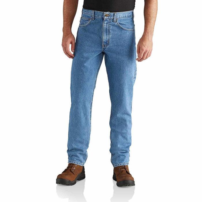 画像1: Carhartt  straight / traditional-fit tapered-leg jean (Irregular) (1)