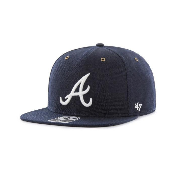 画像1: Carhartt × 47 BRAND   Atlanta Braves '47 Captain Cap (1)