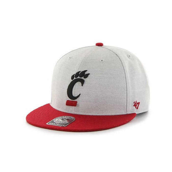 画像1: 47 BRAND   NCAA Cincinnati Bearcats Catfish Captain Cap (1)